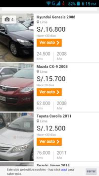 Autos Usados Perú screenshot 1