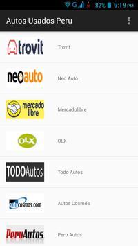 Autos Usados Perú poster