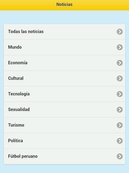 Perú Notícias screenshot 3
