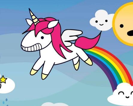 Pink Glisten Unicorn Cat Themes screenshot 3