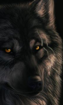 Wolf Lock Screen Themes poster