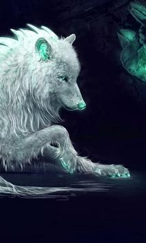 Wolf Lock Screen Themes screenshot 1