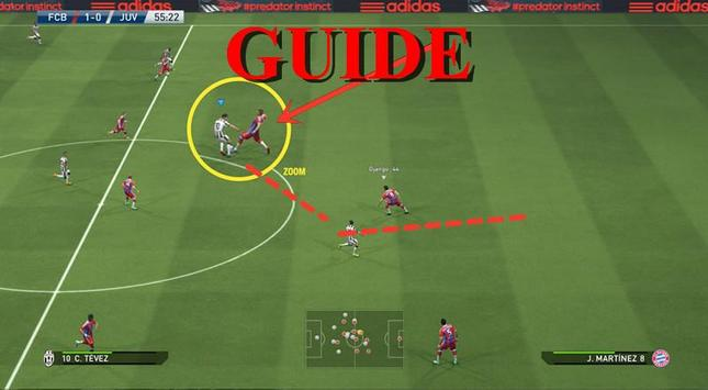 Guides Pes 2016 Hacks apk screenshot