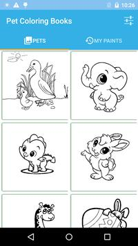 Pets Coloring Book poster