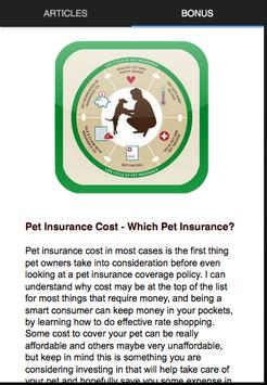 Pet Insurance Health apk screenshot