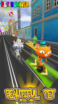 Pet Runner- Cat Surfer Endless Running capture d'écran 8