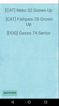 Pet Age Calculator apk screenshot