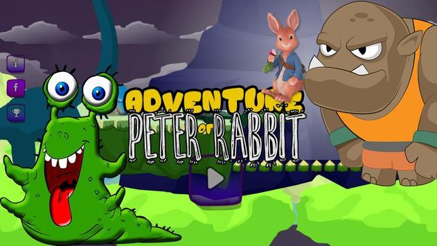 legend peter rabbit : piggy monsters poster