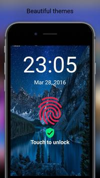 Fingerprint Touch Unlock prank poster