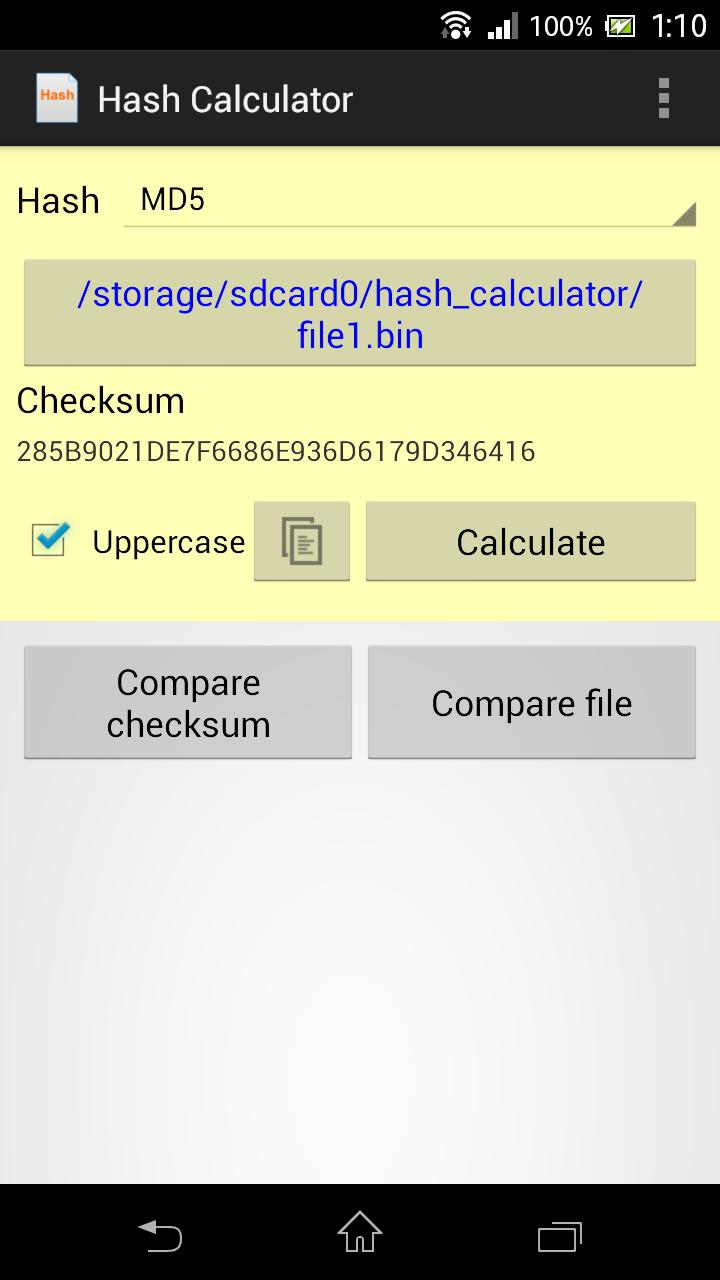 Hash Calculator for Android - APK Download