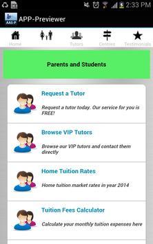My Aone Tutor (Singapore) apk screenshot