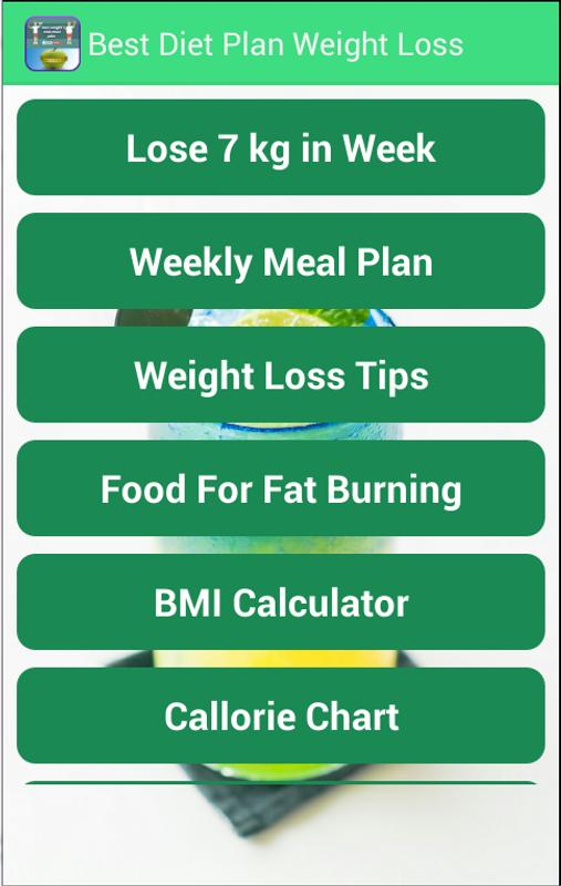 Best Diet Plan Weight Loss For Android Apk Download