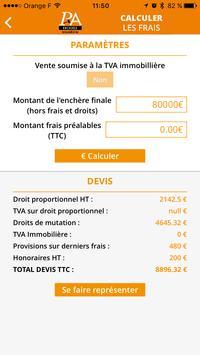 Enchères Immo apk screenshot