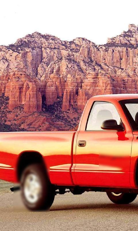 Wallpaper Dodge Dakota Sport Poster