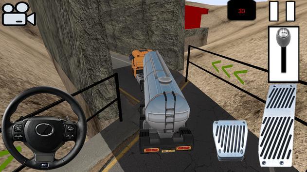 Oil Transport with Tanker - 3D apk screenshot