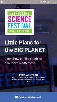 Petrosains Science Festival 2017 poster