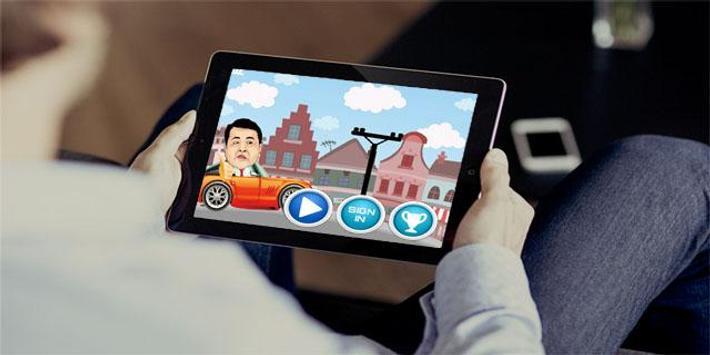 Mobil VS Tiang Listrik screenshot 1