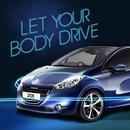APK Peugeot208-Let your body drive