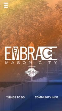 Embrace Mason City IA poster