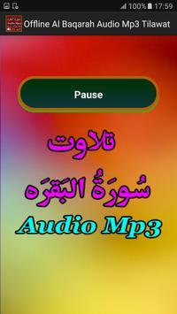Offline Al Baqarah Audio Mp3 apk screenshot