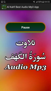Al Kahf Best Audio Mp3 App apk screenshot