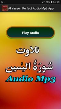 Al Yaseen Perfect Audio Mp3 apk screenshot