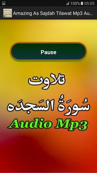 Amazing As Sajdah Tilawat Mp3 apk screenshot
