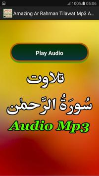 Amazing Ar Rahman Tilawat Mp3 apk screenshot