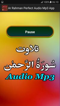 Ar Rahman Perfect Audio Mp3 apk screenshot