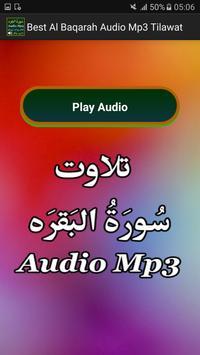 Best Al Baqarah Audio Mp3 App apk screenshot