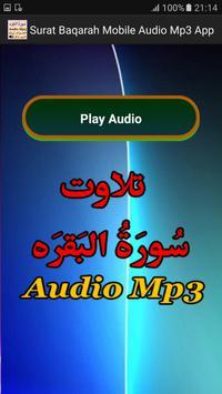 Surat Baqarah Mobile Mp3 App apk screenshot