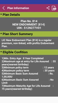 LifeCell Premium Calculator & Plan Presentation apk screenshot