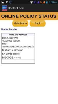 LIC ONLINE POLICY STATUS apk screenshot