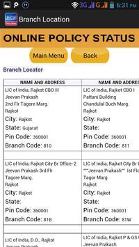 Online Policy Status apk screenshot