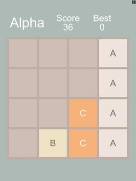 2048 Alpha apk screenshot