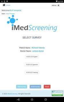 iMedScreening apk screenshot