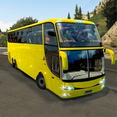 mobile bus driving sim 2018 - tourist coach drive icon