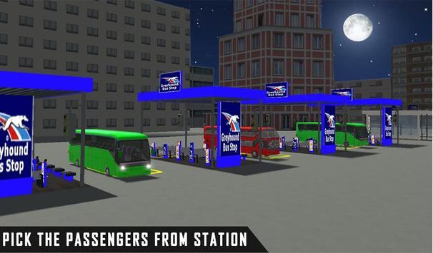 mobile bus driving sim 2018 - tourist coach drive screenshot 10