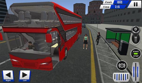 mobile bus driving sim 2018 - tourist coach drive screenshot 11