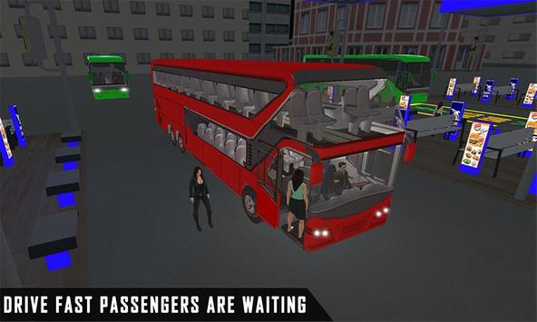 mobile bus driving sim 2018 - tourist coach drive screenshot 1