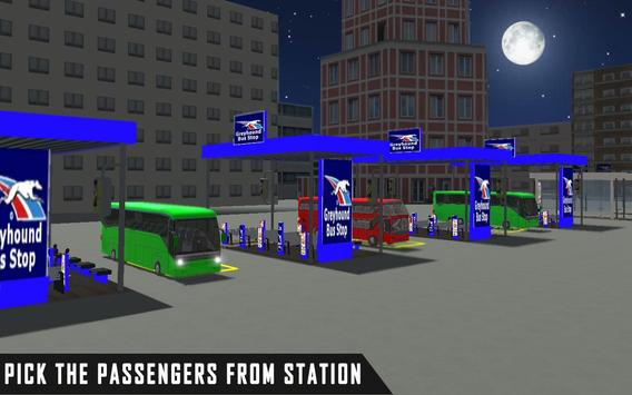 mobile bus driving sim 2018 - tourist coach drive screenshot 4