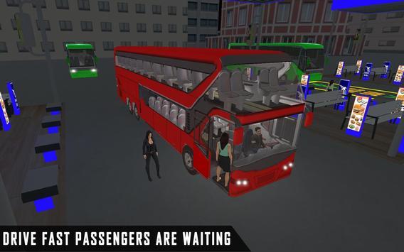 mobile bus driving sim 2018 - tourist coach drive screenshot 5