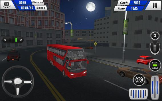 mobile bus driving sim 2018 - tourist coach drive screenshot 6