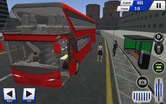 mobile bus driving sim 2018 - tourist coach drive screenshot 7