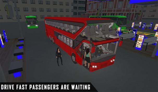 mobile bus driving sim 2018 - tourist coach drive screenshot 9