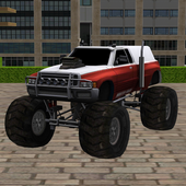 Monster Truck Stunt Parking 2 icon