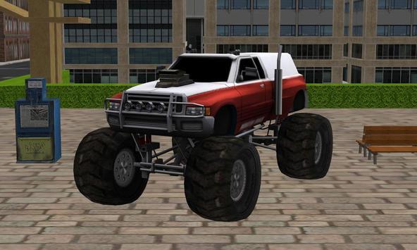 Monster Truck Stunt Parking 2 poster