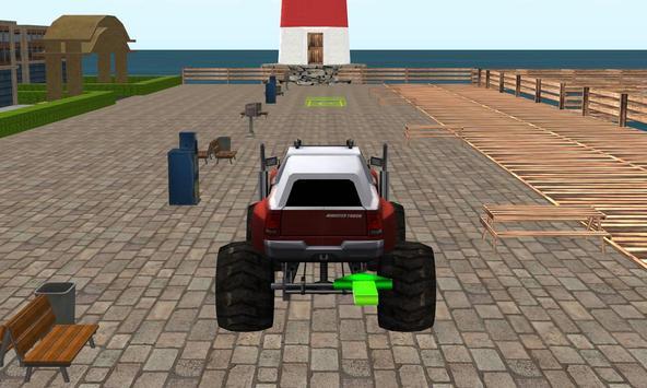 Monster Truck Stunt Parking 2 screenshot 9