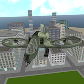 airplane helicopter rescue sim icon
