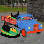 bumper truck transport sim icon